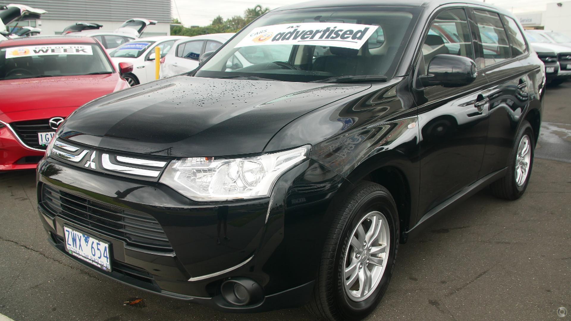 2013 Mitsubishi Outlander ZJ