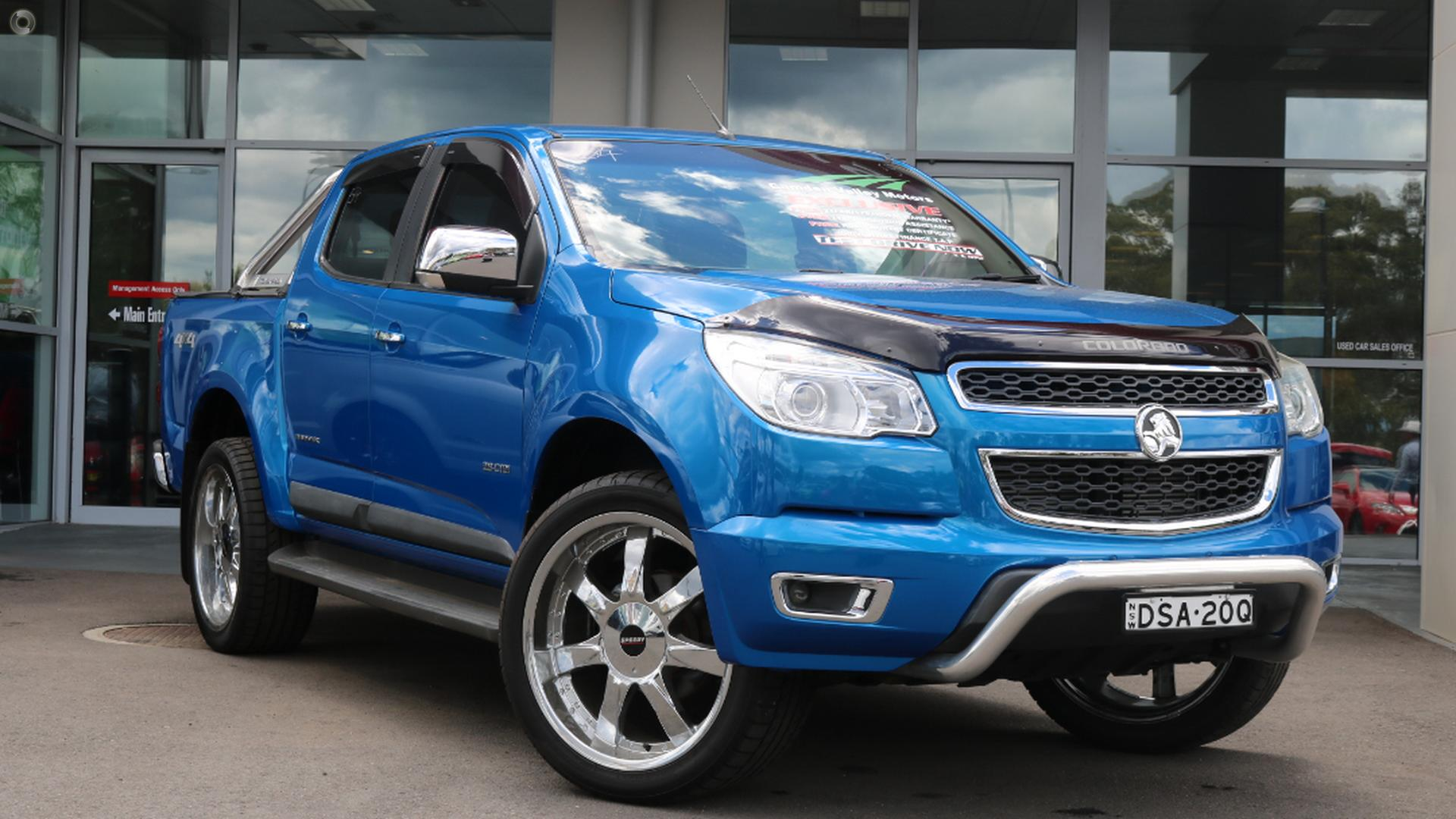 2013 Holden Colorado LTZ RG