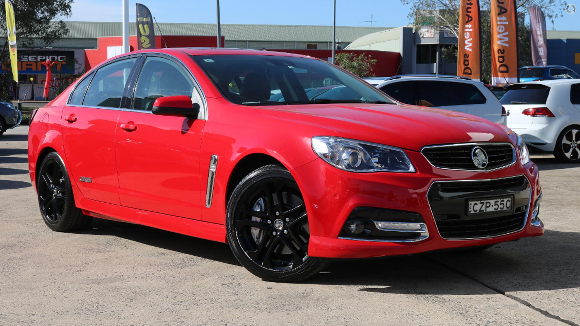 2015 Holden Commodore Ss V Redline