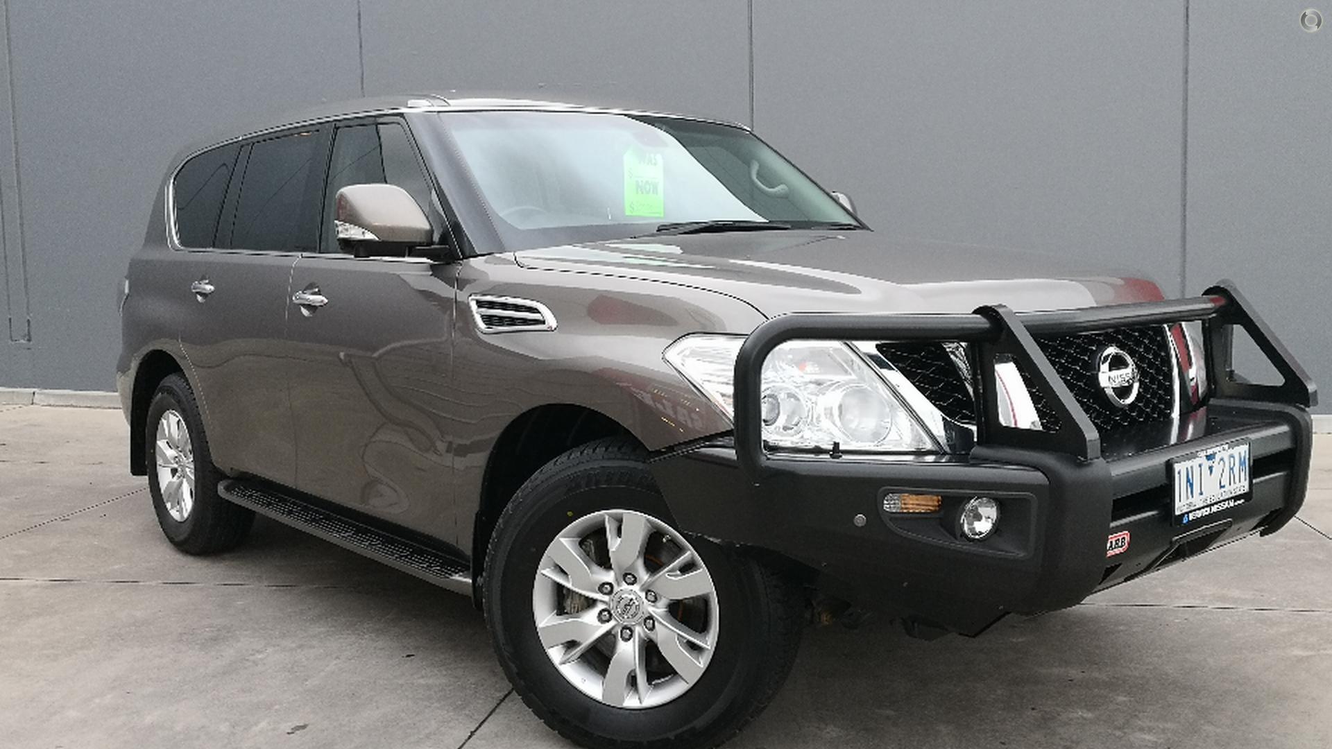 2012 Nissan Patrol Ti-l