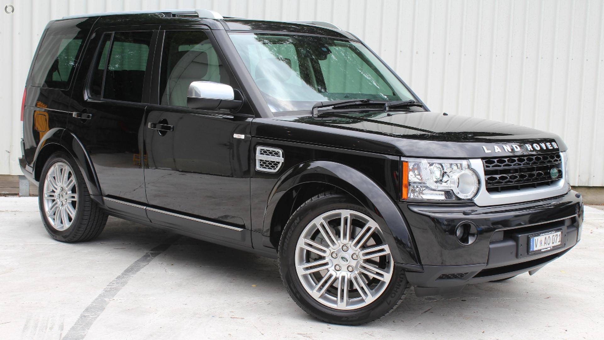 2012 Land Rover Discovery 4 HSE Luxury Series 4