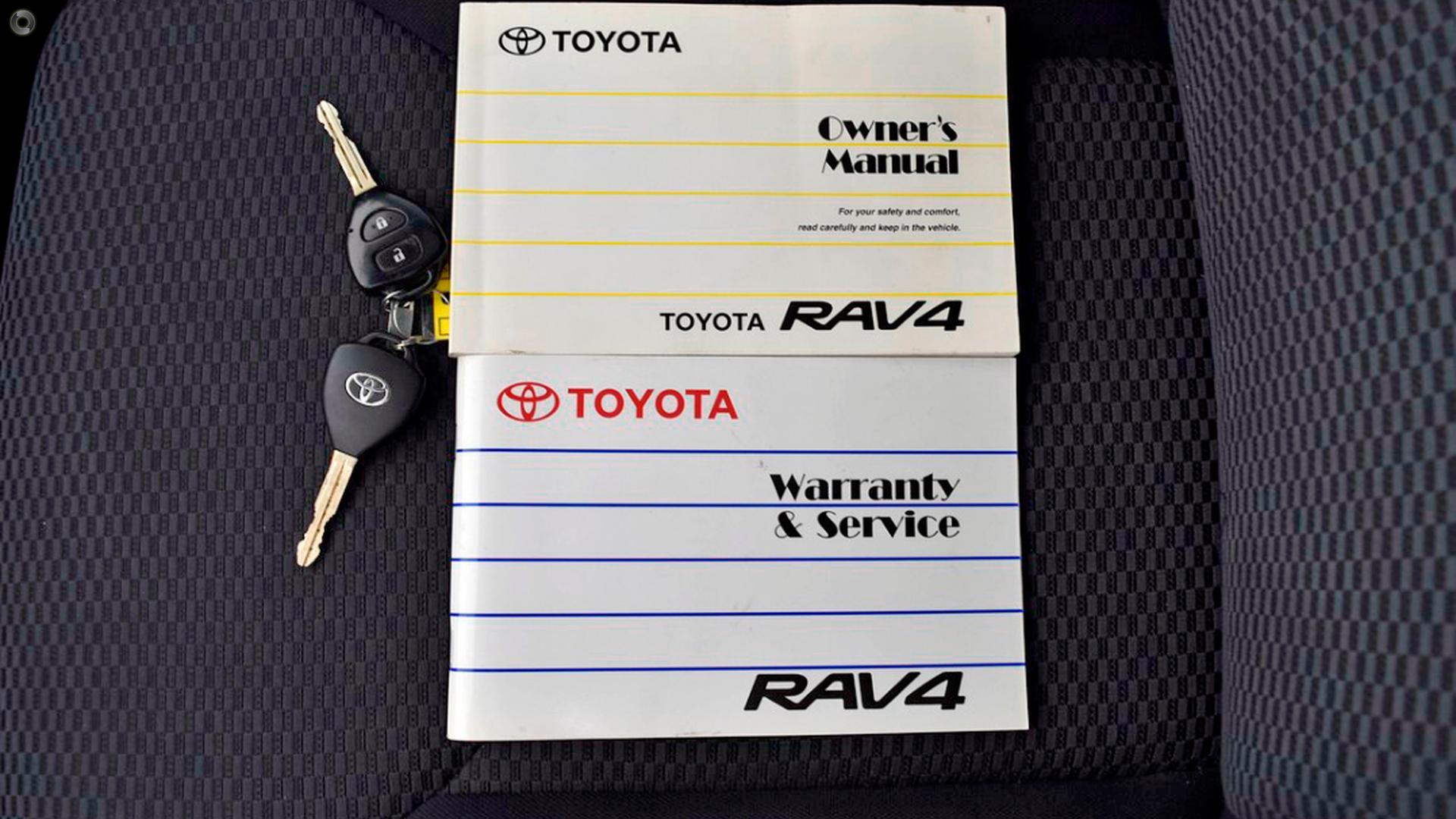 2007 Toyota Rav4 Cruiser ACA33R