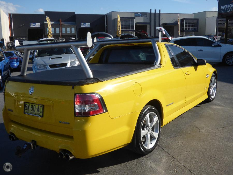 2012 Holden Ute SS VE Series II