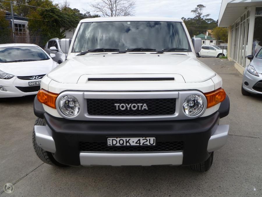2013 Toyota Fj Cruiser  GSJ15R