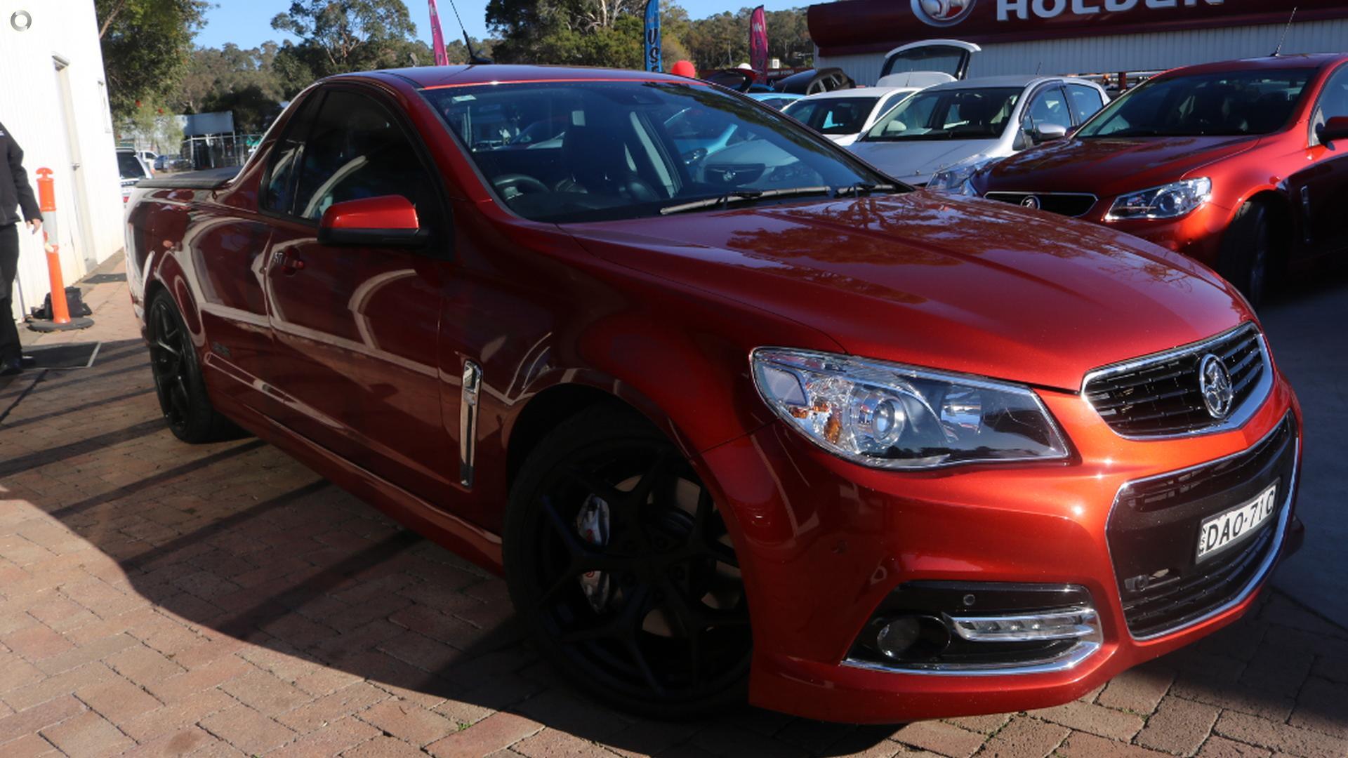 2015 Holden Ute Ss V Redline