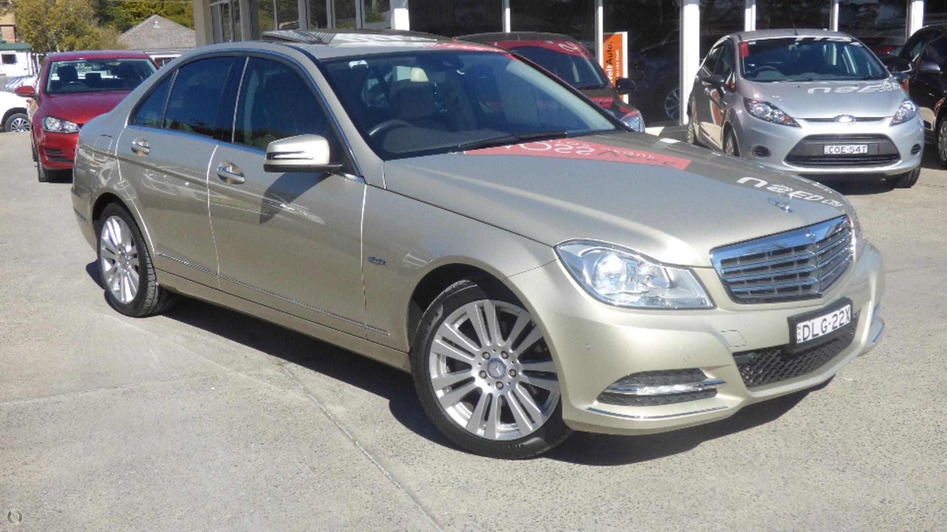 2012 Mercedes-benz C250 Cdi Blueefficiency Elegance
