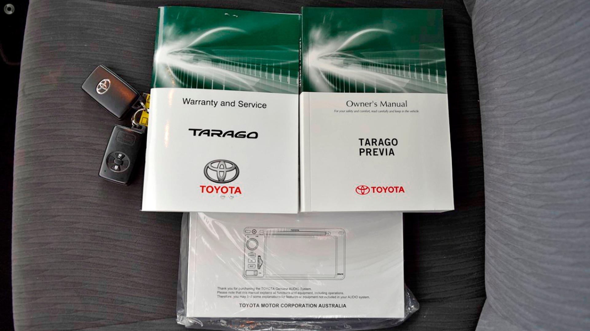 2017 Toyota Tarago GLX ACR50R