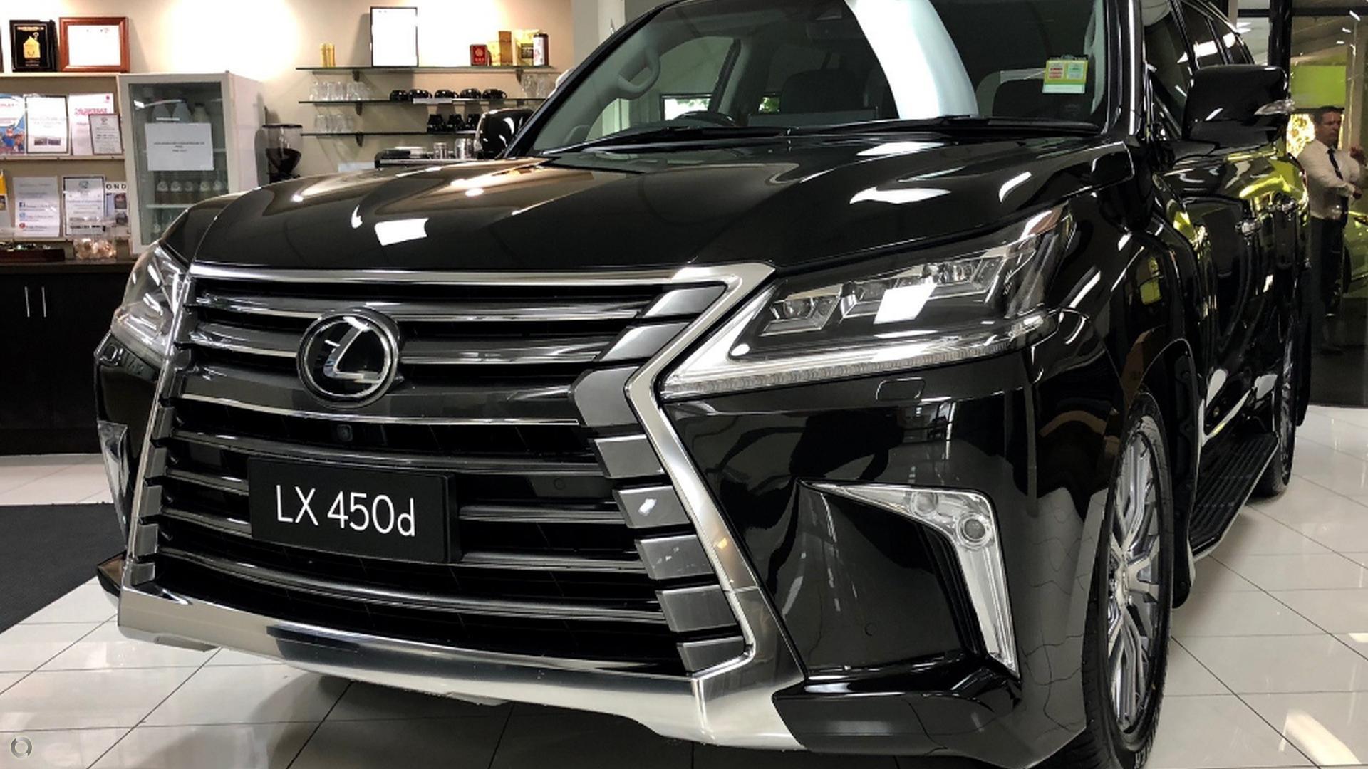 2018 Lexus Lx450d  VDJ201R