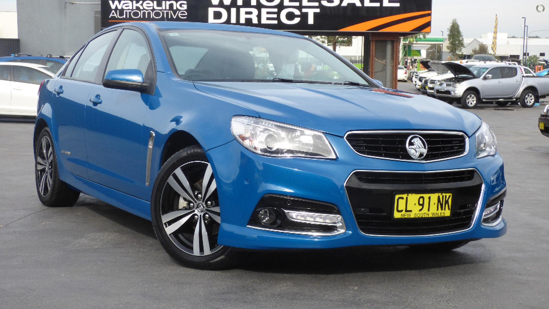 2015 Holden Commodore Sv6 Storm