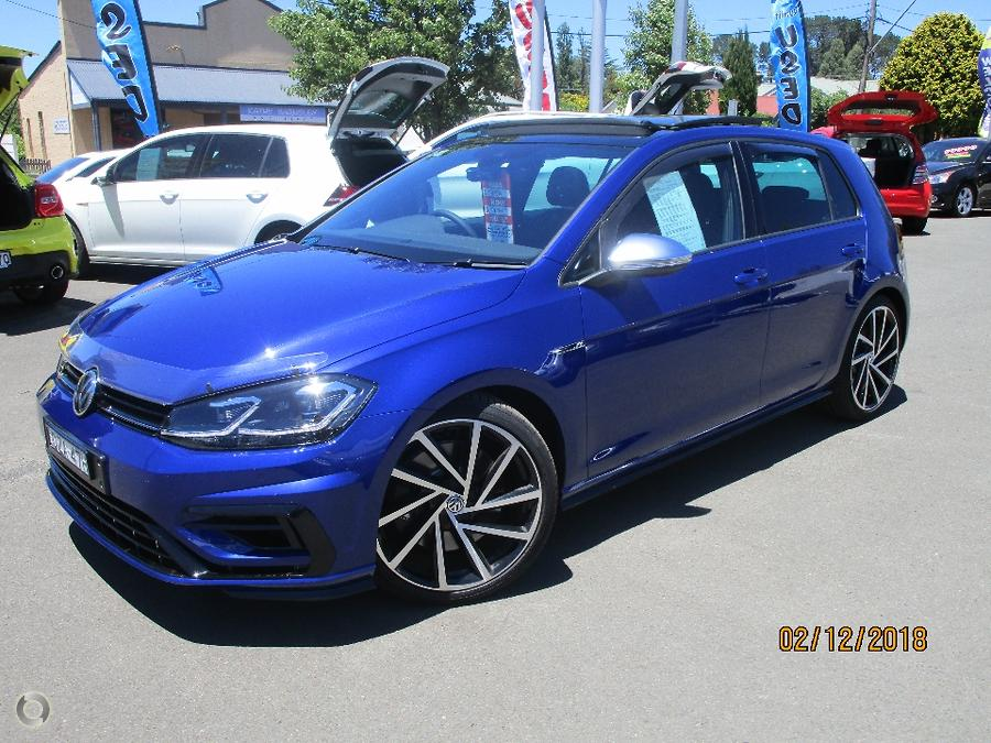2018 Volkswagen Golf R 7.5