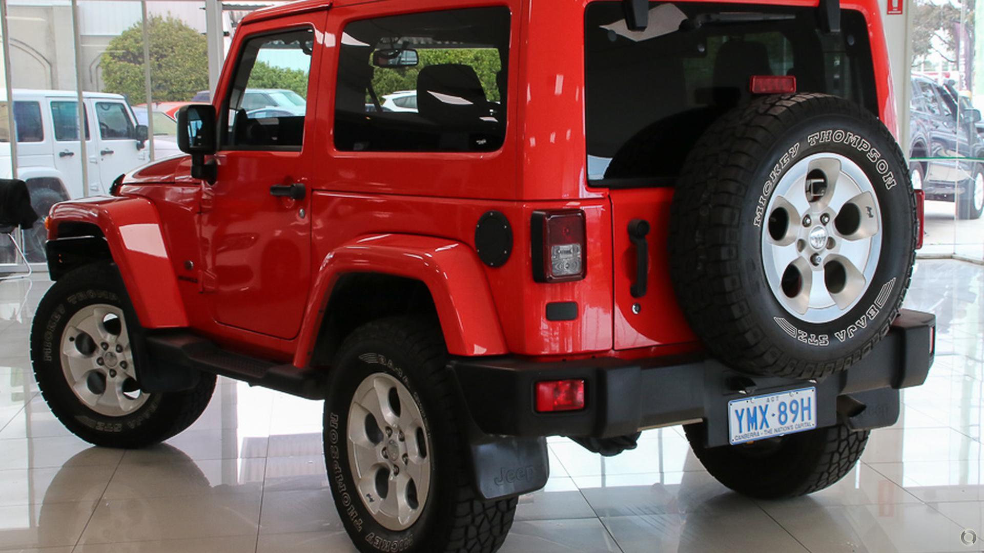 2012 Jeep Wrangler Overland JK