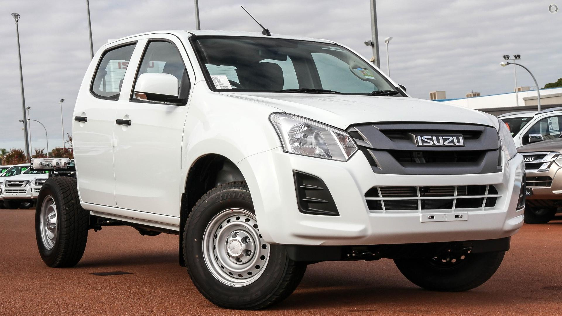 2017 Isuzu D-MAX SX (No Series)