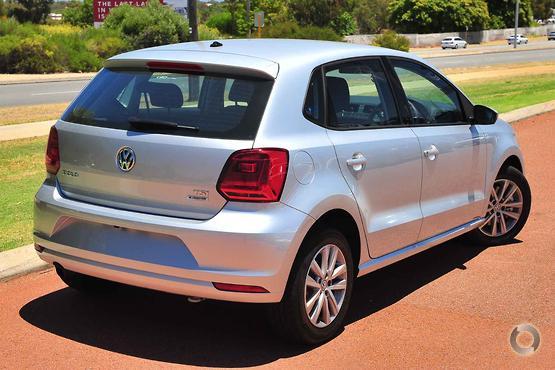 2017 Volkswagen Polo 81TSI Comfortline 6R