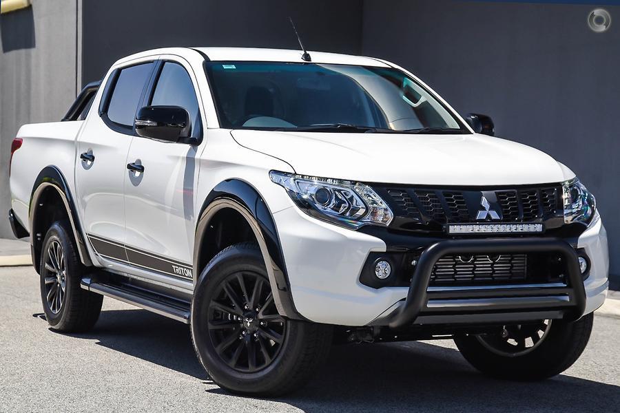 2018 Mitsubishi Triton Blackline MQ