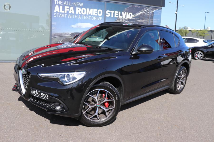 2017 Alfa Romeo Stelvio First Edition No Series Essendon Isuzu Ute