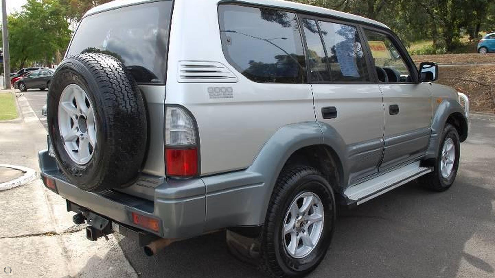 2002 Toyota Landcruiser Prado GXL KZJ95R
