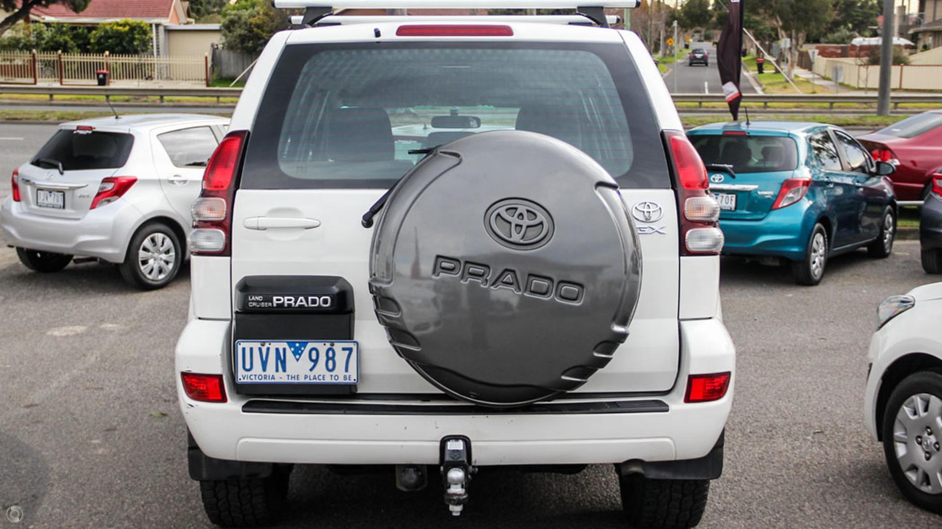 2007 Toyota Landcruiser Prado GX KDJ120R