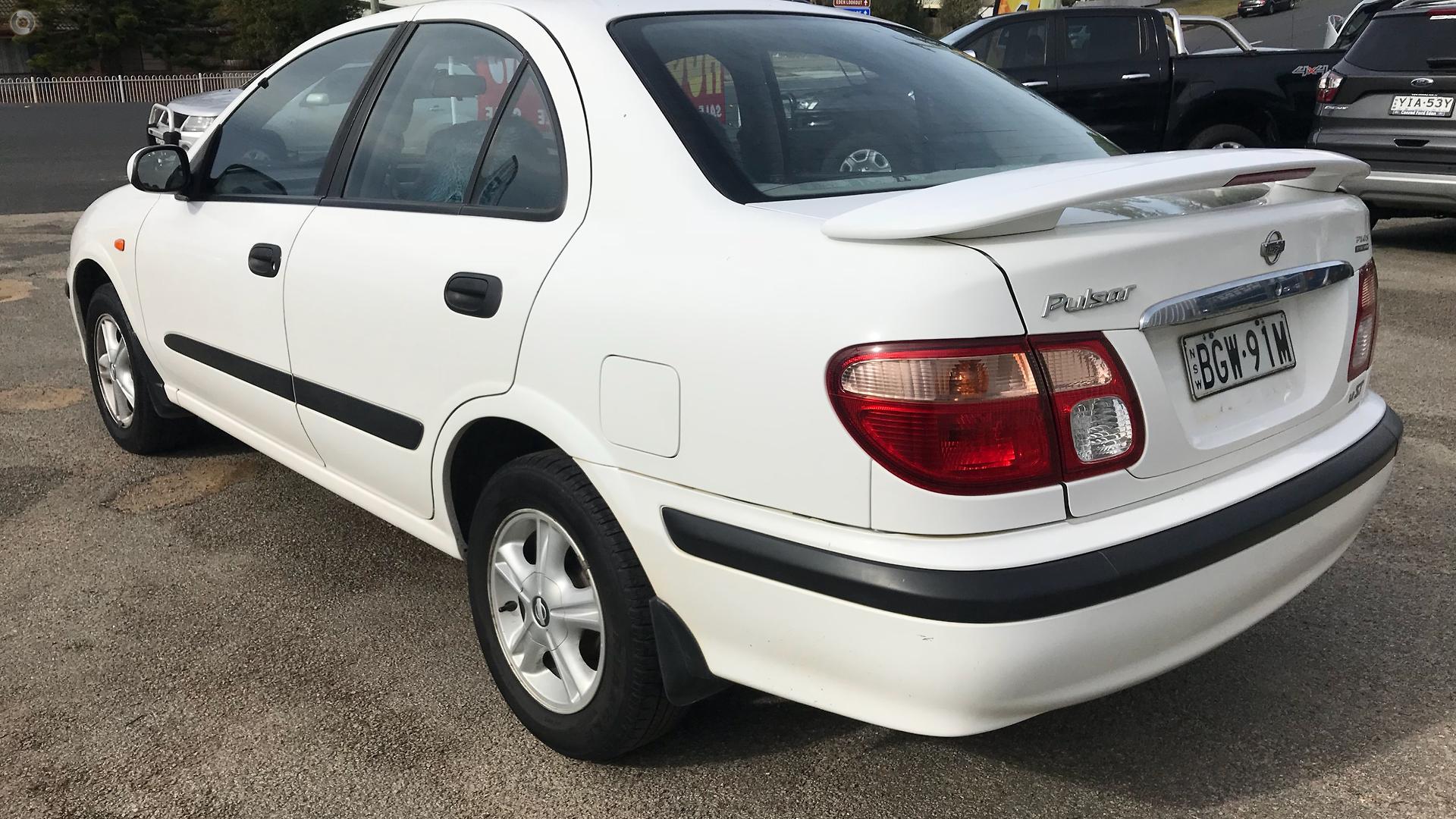 2002 Nissan Pulsar ST Plus N16