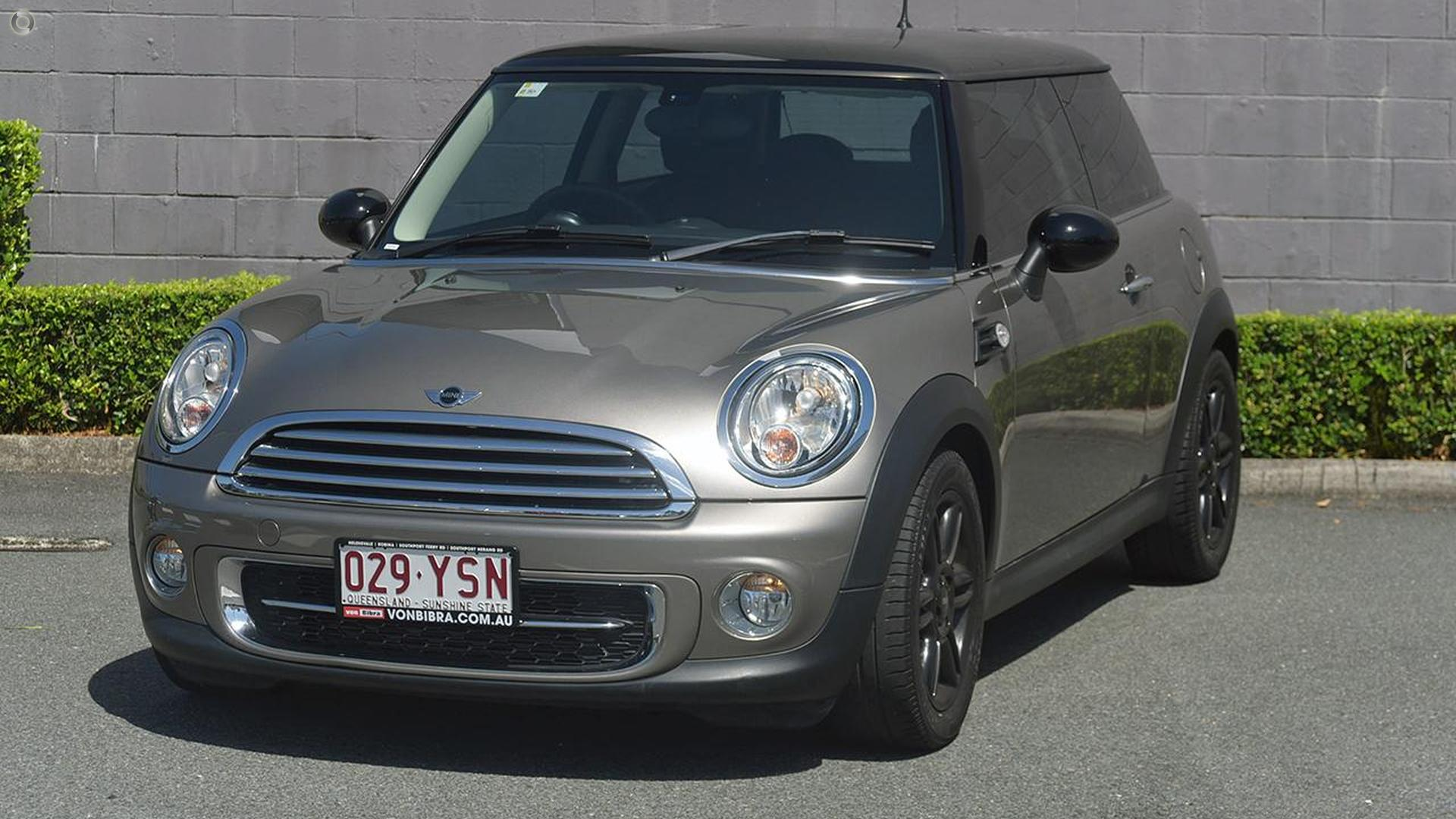 2012 MINI Coupe Cooper R58