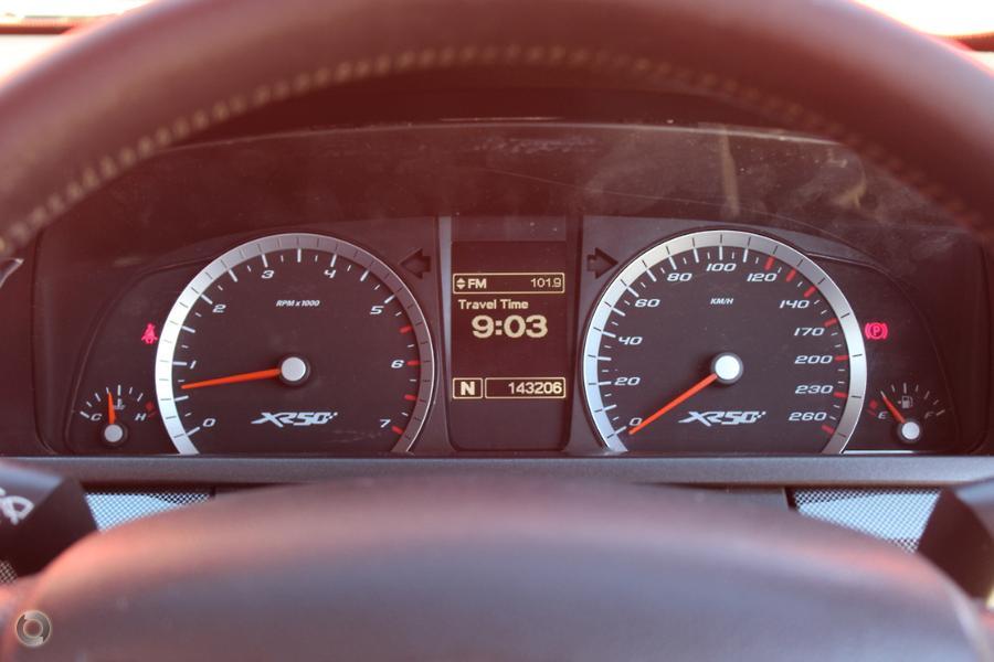 2010 Ford Falcon Ute XR6 50th Anniversary FG