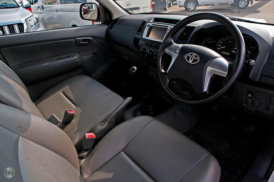 2015 Toyota Hilux Workmate KUN16R
