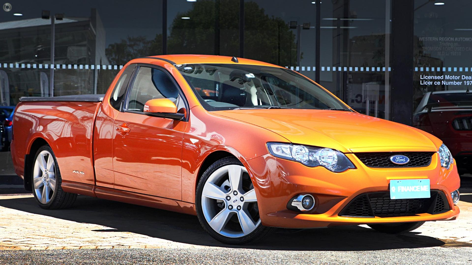 2011 Ford Falcon Ute XR6 Turbo FG