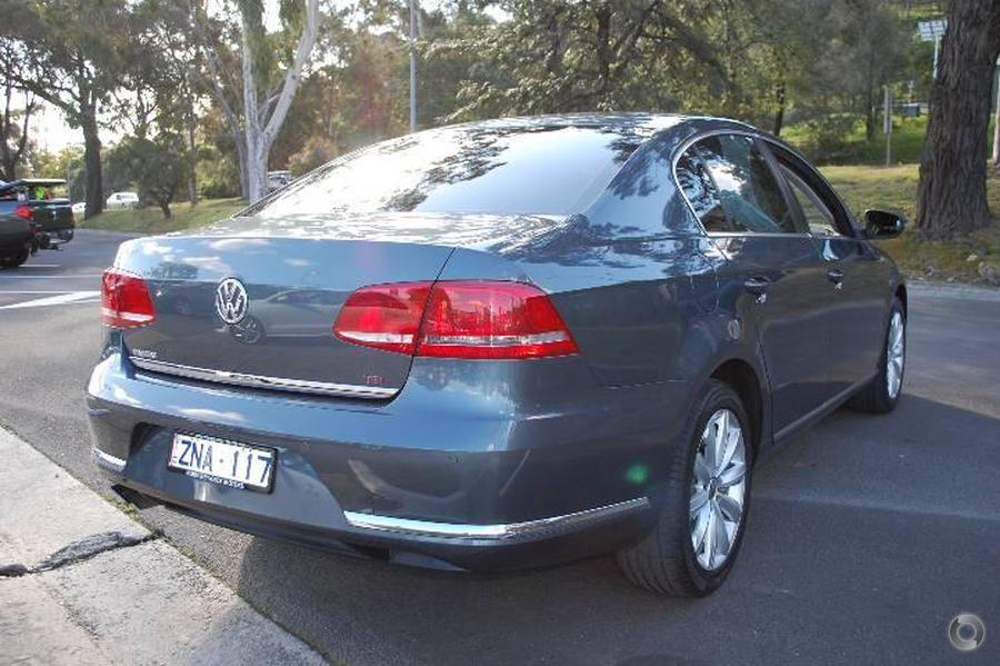 2012 Volkswagen Passat 118TSI Type 3C