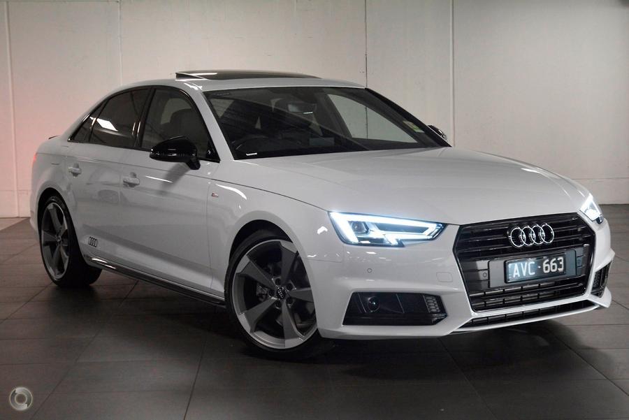 2018 Audi A4 Black Edition B9 Octane