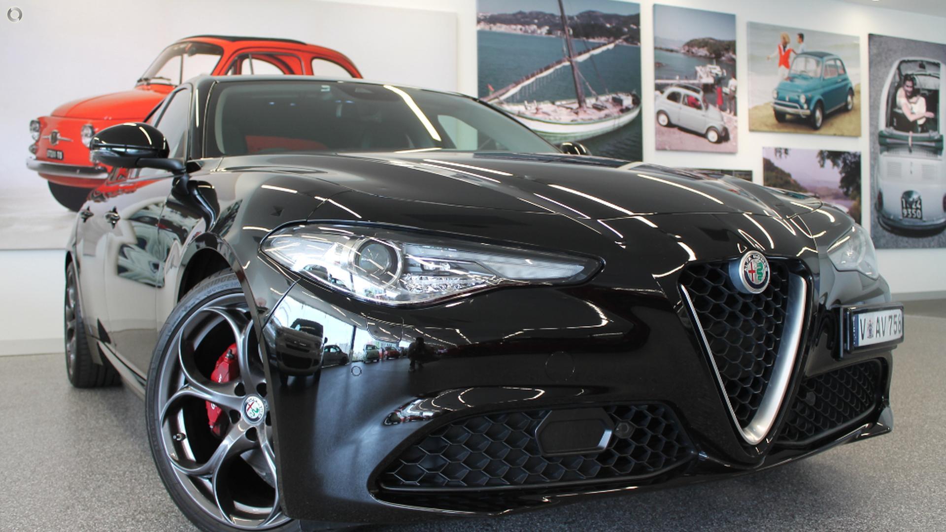 2017 Alfa Romeo Giulia Super (No Series)