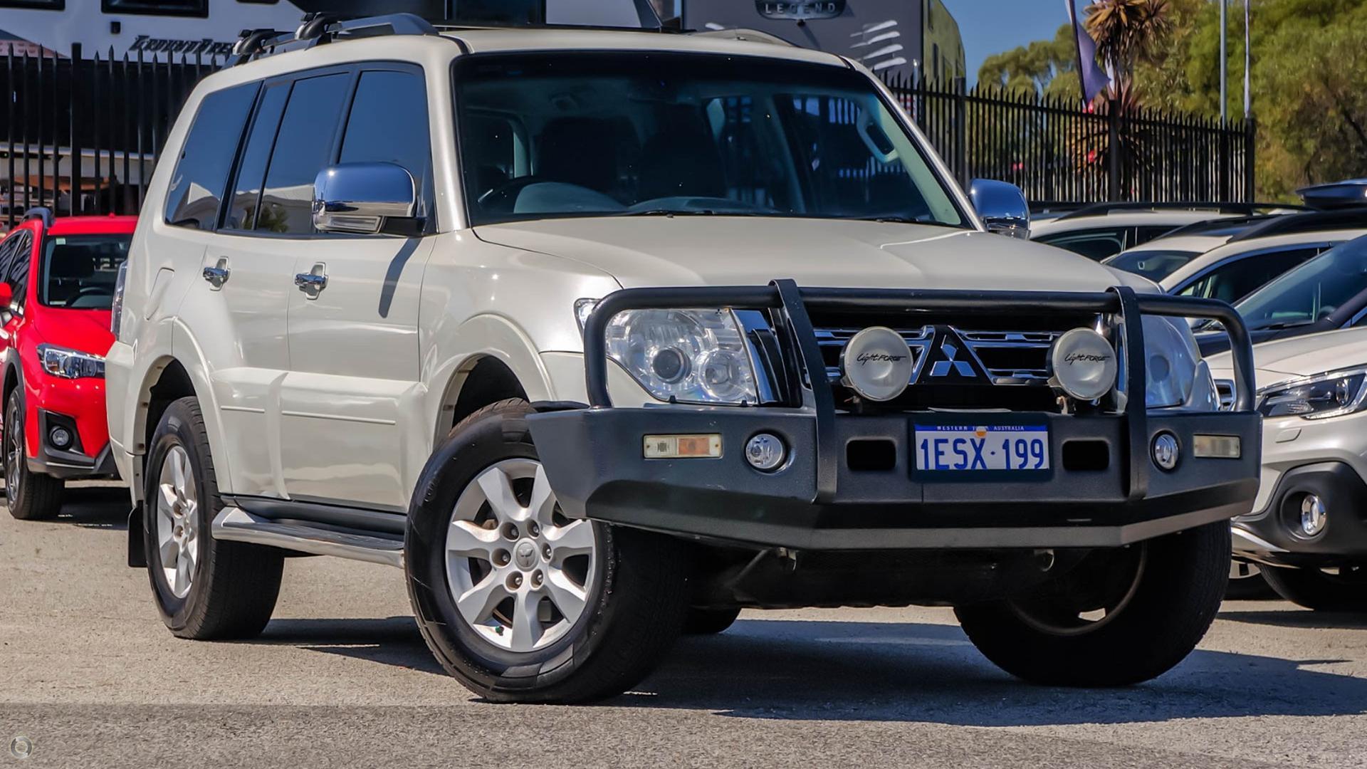 2012 Mitsubishi Pajero GLX NW