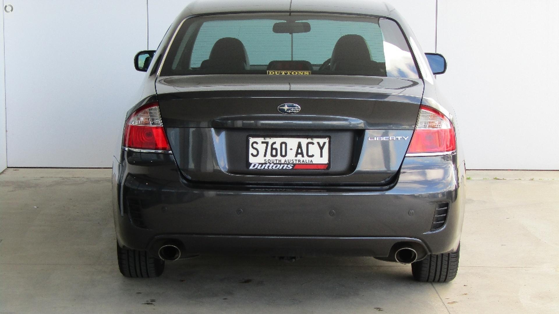 2009 Subaru Liberty 2.5i Premium 5GEN
