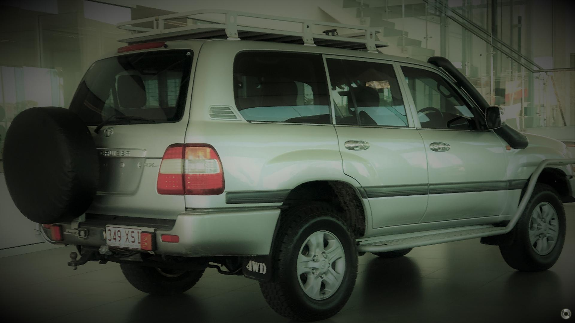 2007 Toyota Landcruiser GXL UZJ100R