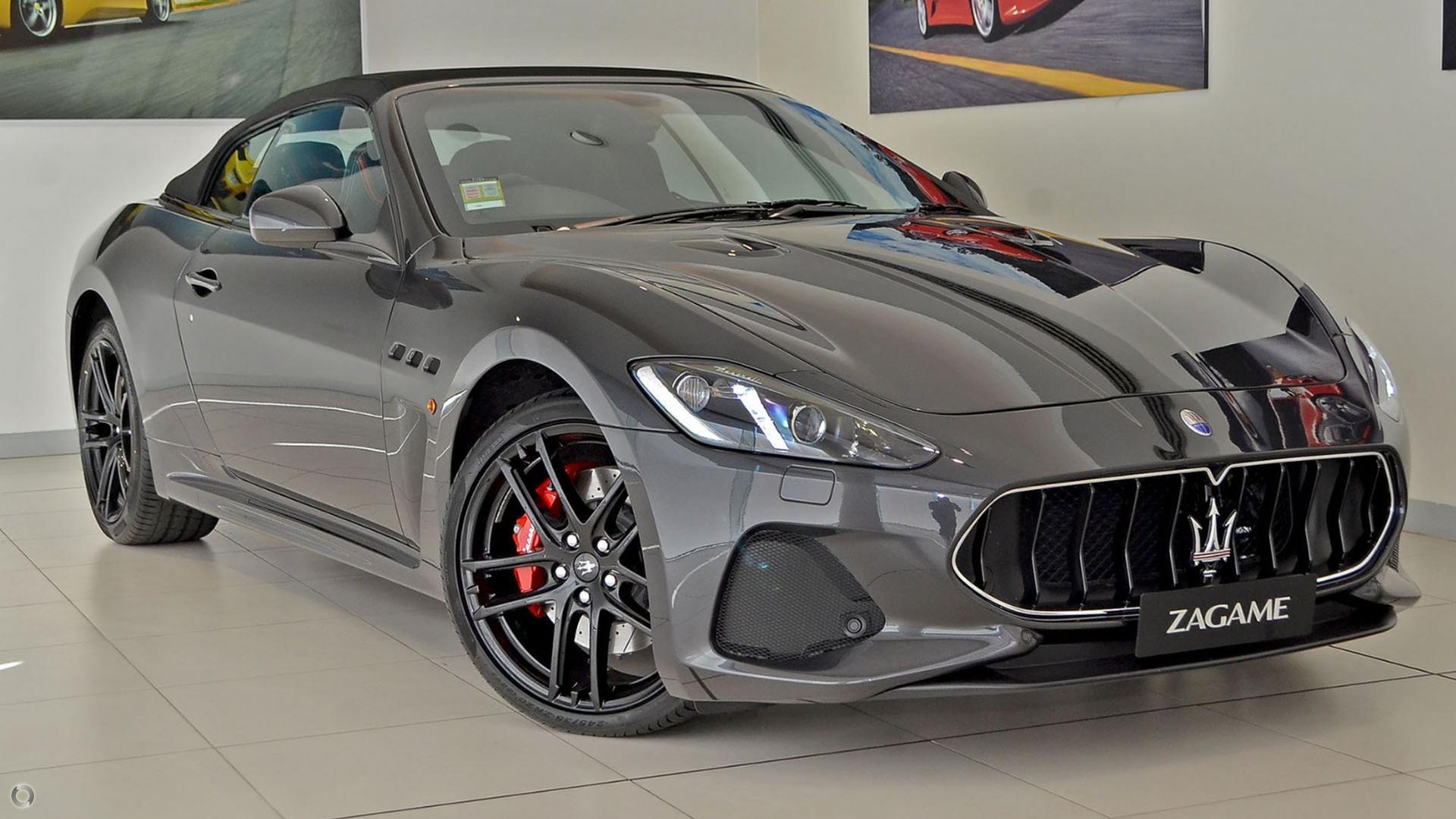 2018 Maserati GranCabrio MC M145