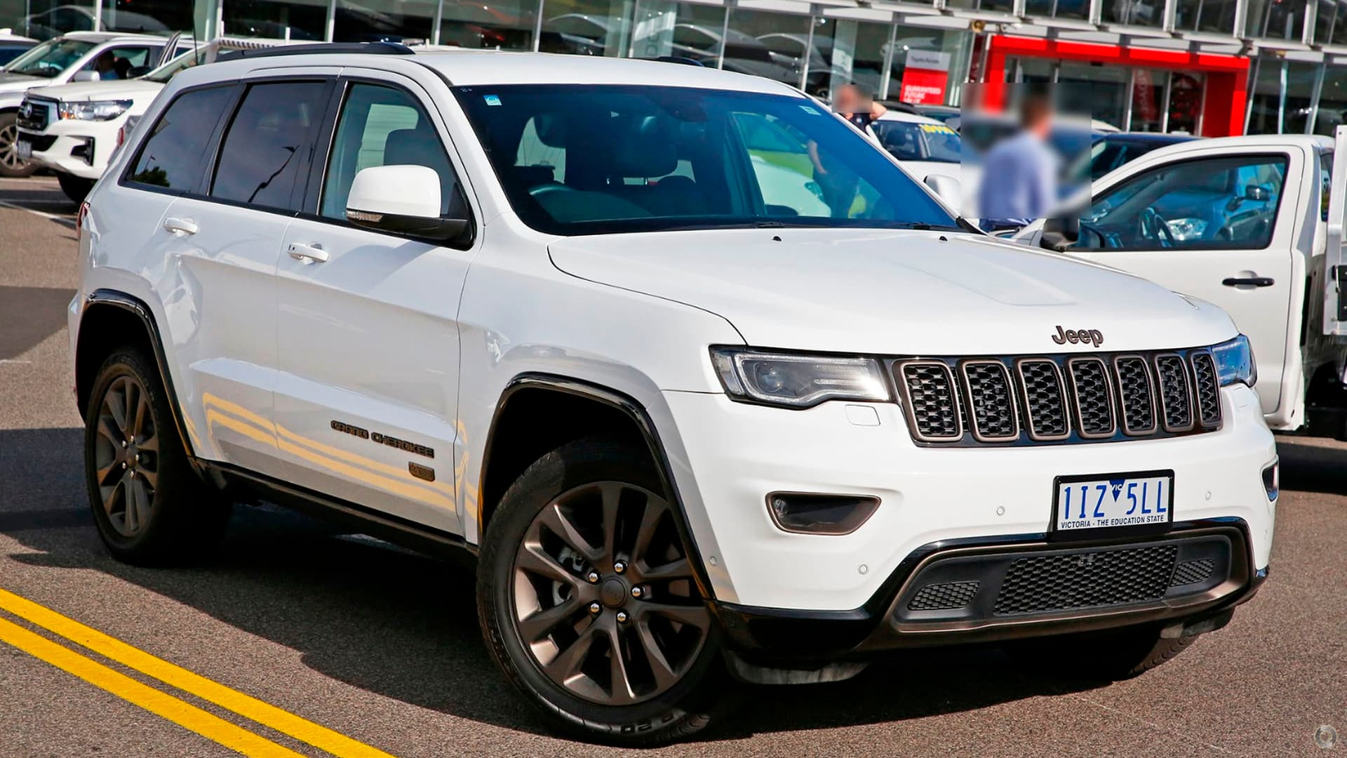 2016 Jeep Grand Cherokee 75th Anniversary WK