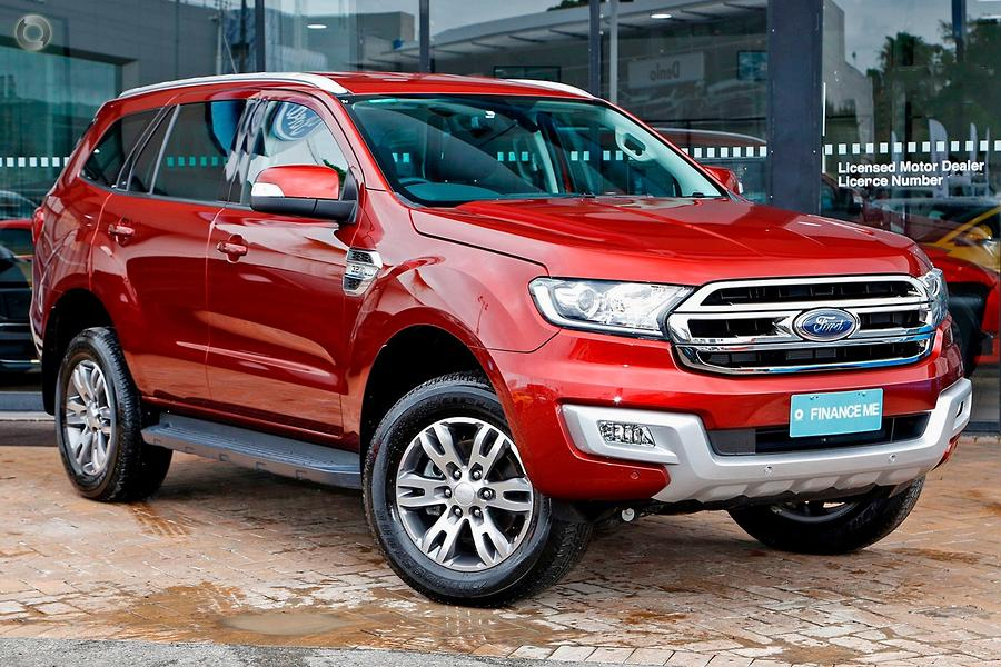2016 Ford Everest Trend UA