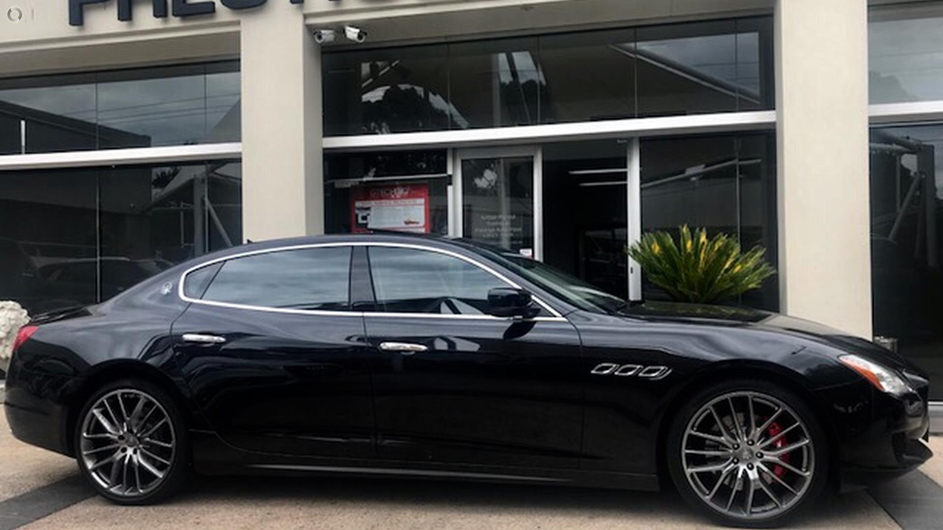 2014 Maserati Quattroporte S M156