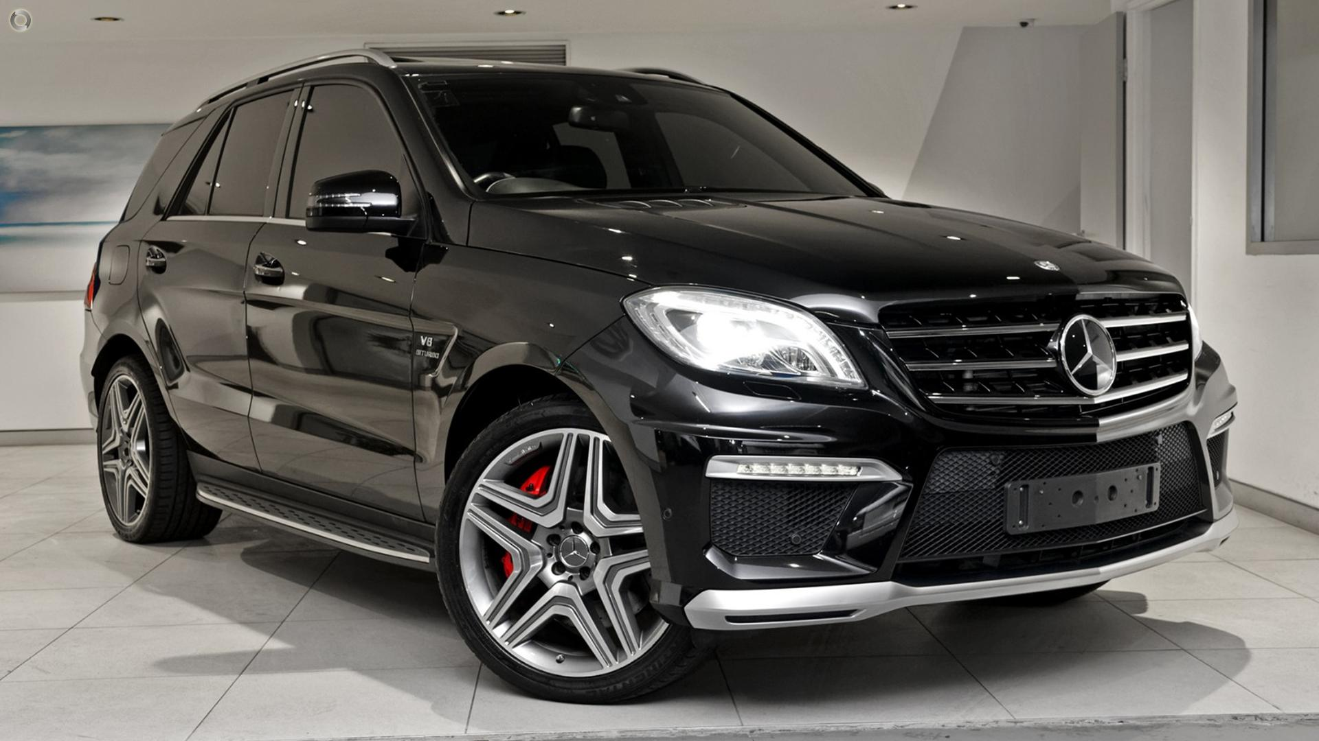 ... 2012 Mercedes Benz ML63 AMG W166 ...