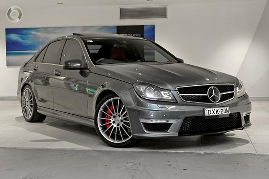 2012 Mercedes-Benz C63 AMG Performance Package Plus W204