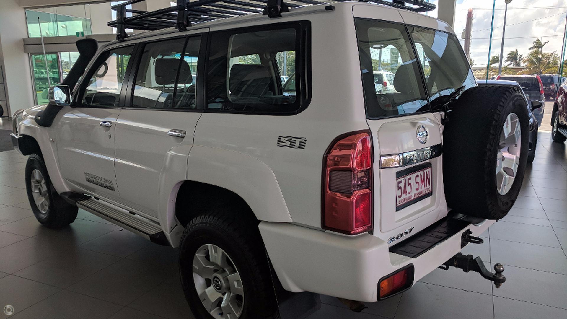 2012 Nissan Patrol ST GU 7