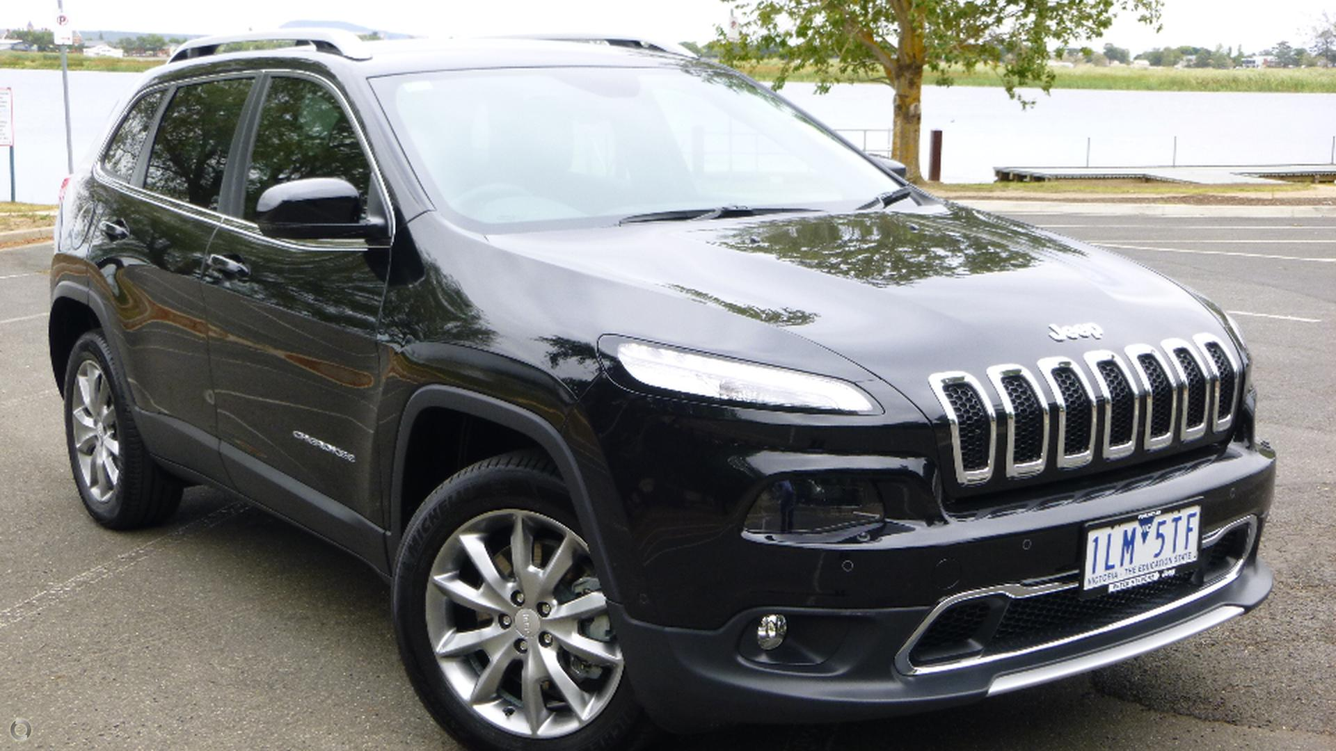 2017 Jeep Cherokee Limited KL