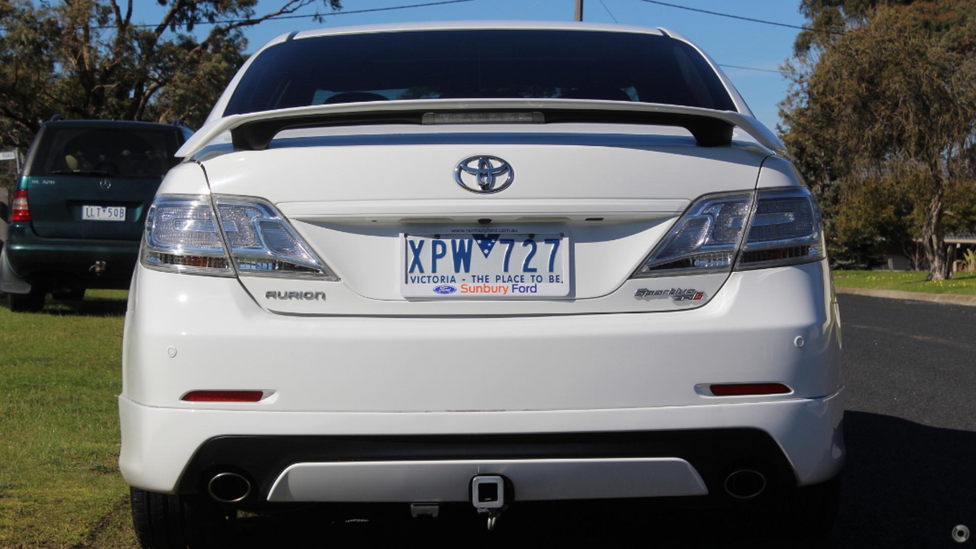 2010 Toyota Aurion Sportivo ZR6 GSV40R