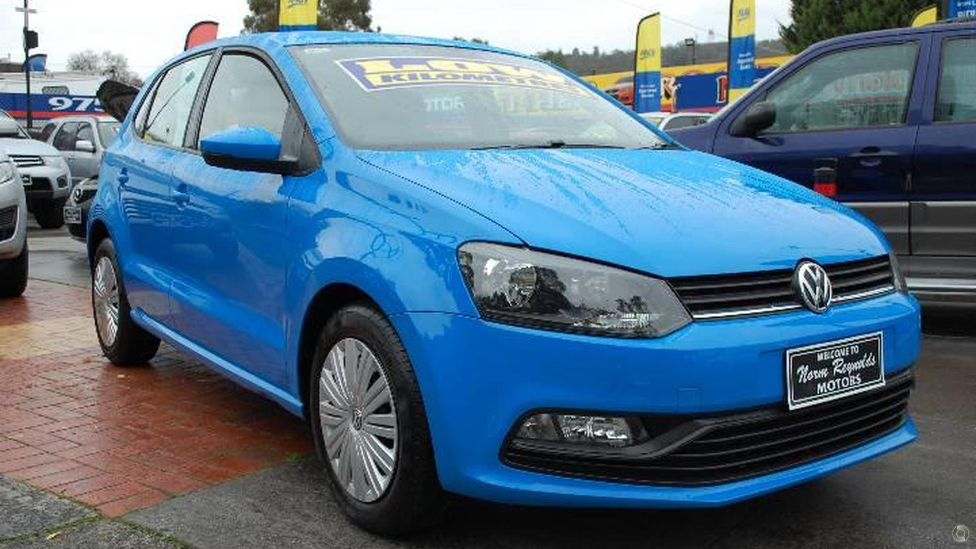 2015 Volkswagen Polo 66TSI Trendline 6R
