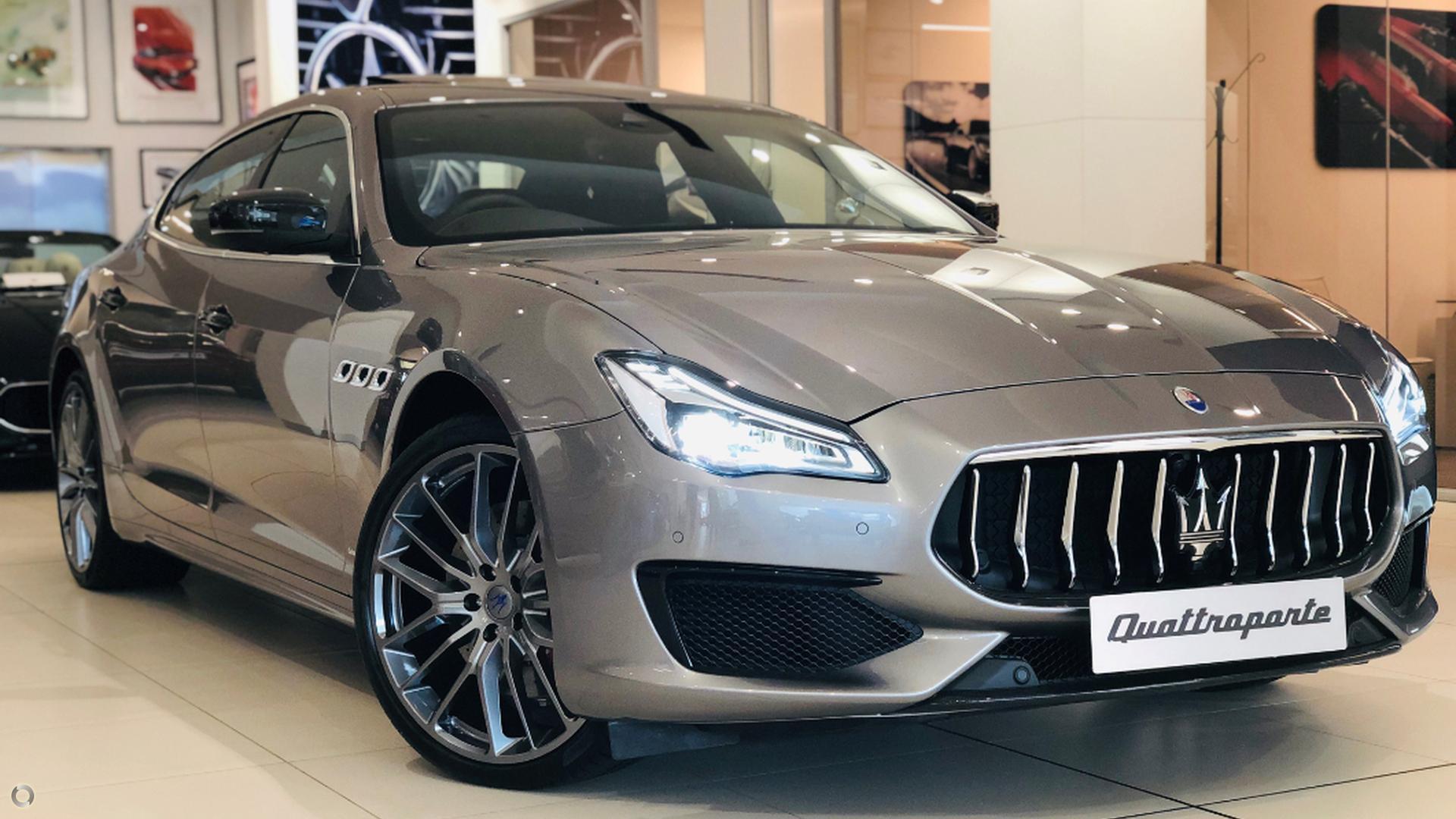 2018 Maserati Quattroporte GranSport M156