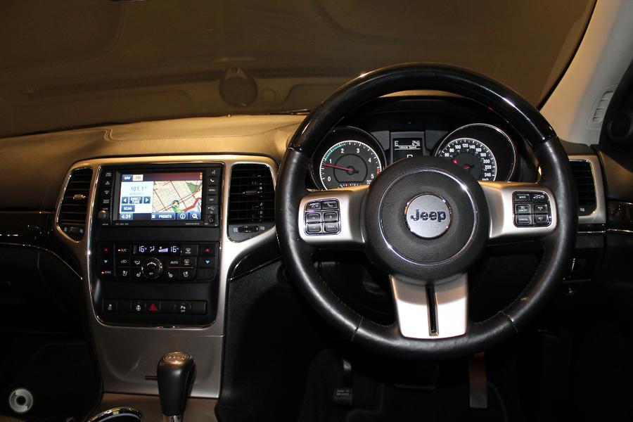 2012 Jeep Grand Cherokee Overland WK