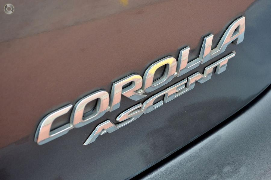 2007 Toyota Corolla Ascent ZZE122R
