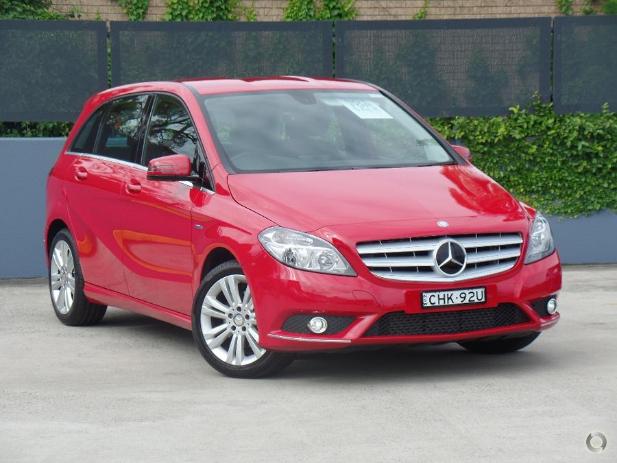 2012 Mercedes-Benz B200 BlueEFFICIENCY W246