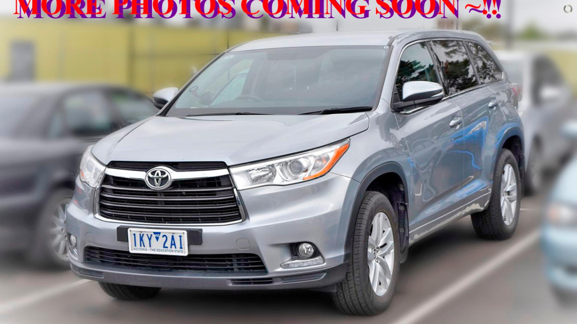 2016 Toyota Kluger Gx Gsu50r Hfh Auto Group