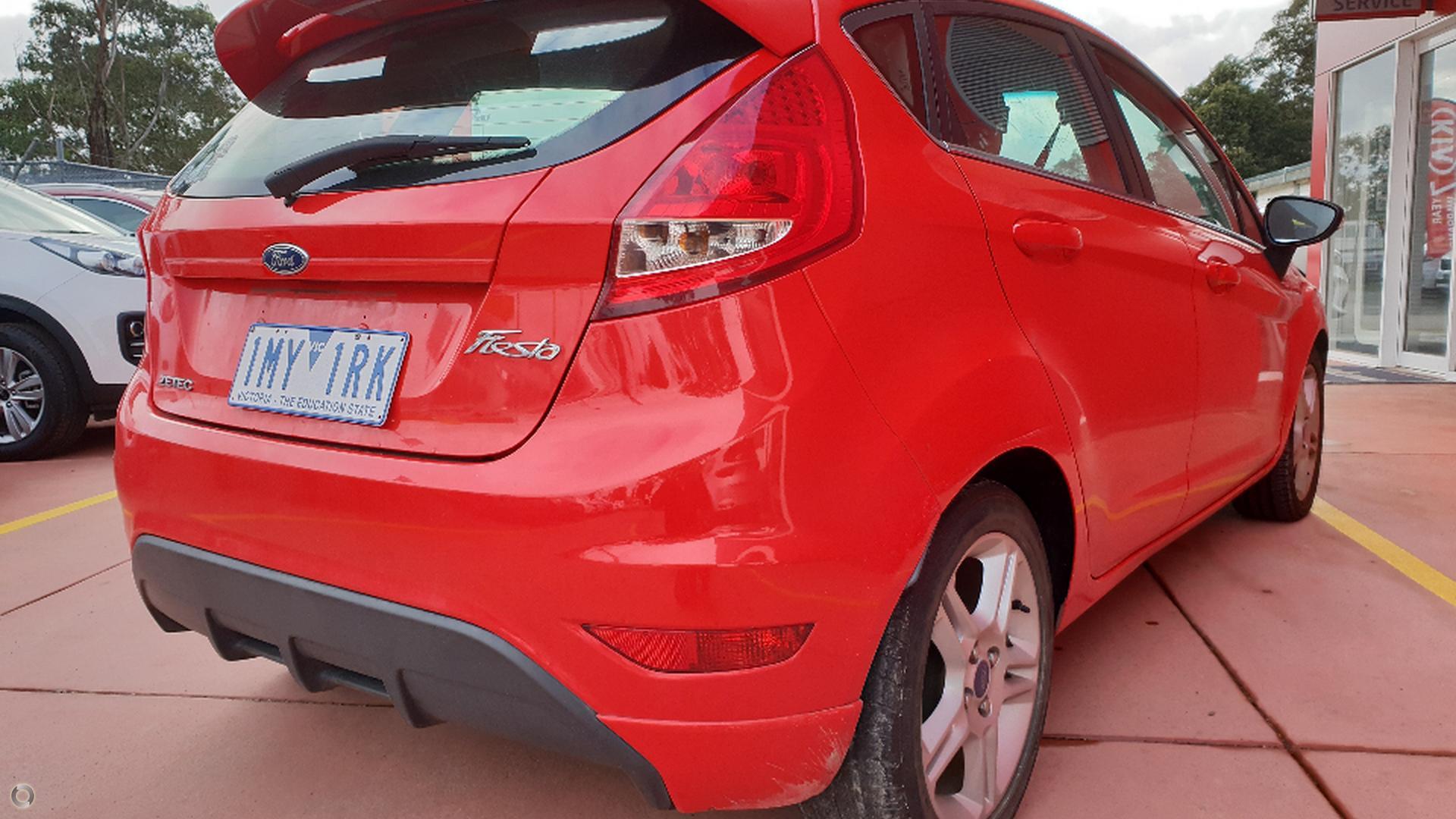 2012 Ford Fiesta Zetec WT