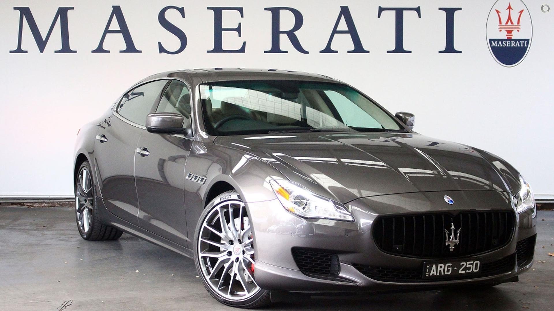 2015 Maserati Quattroporte GTS M156