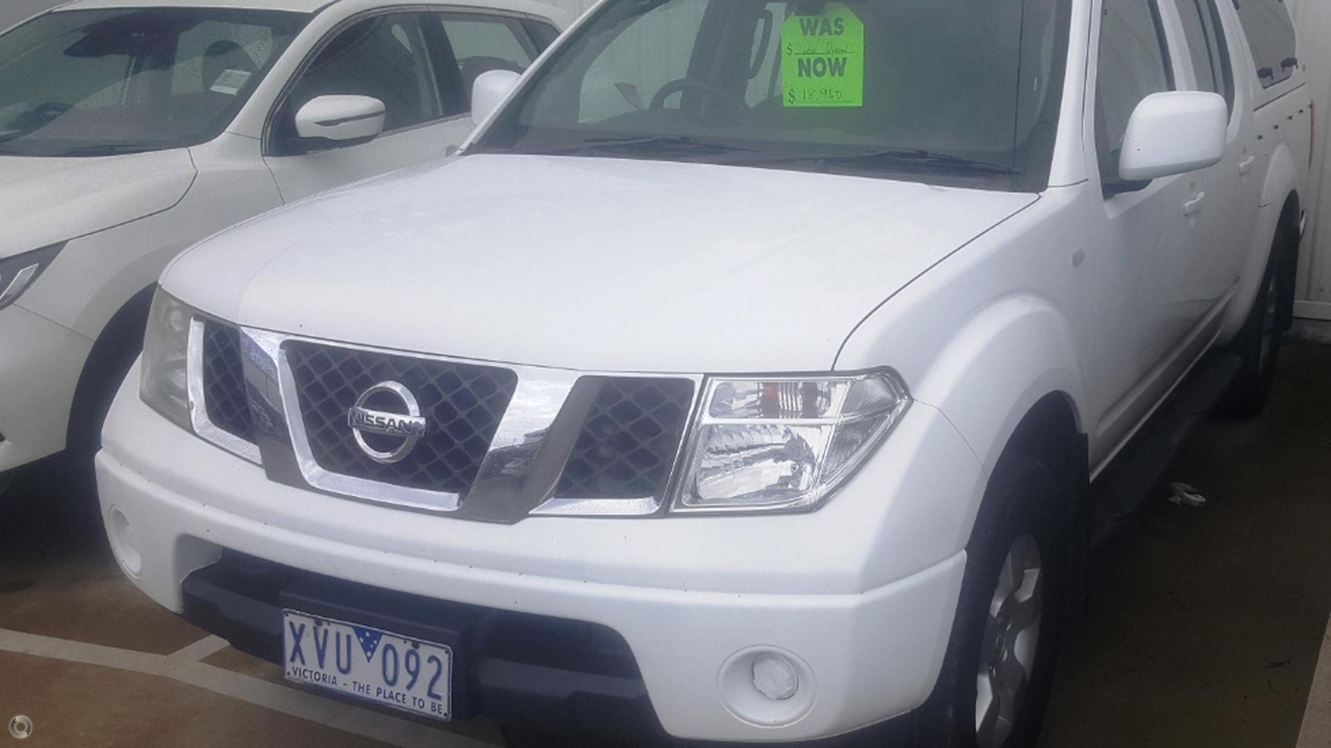 2010 Nissan Navara ST D40